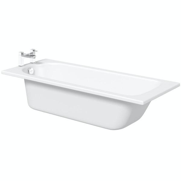 Kaldewei Eurowa straight steel bath  with leg set 1700 x 700