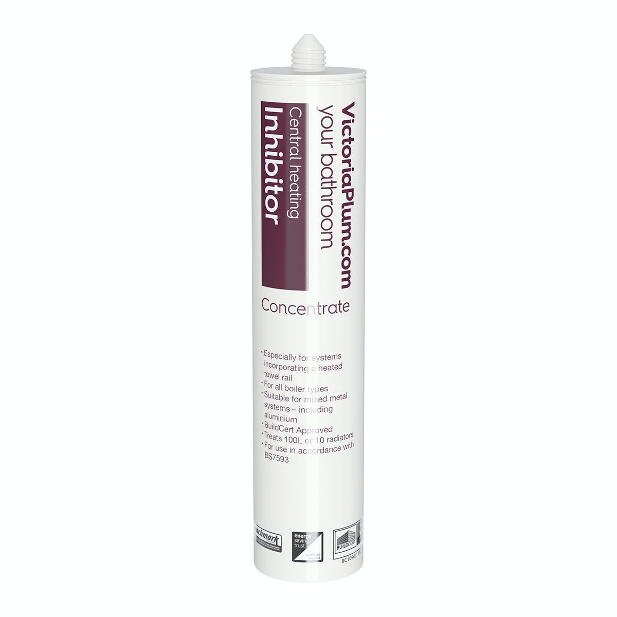Central heating inhibitor concentrate