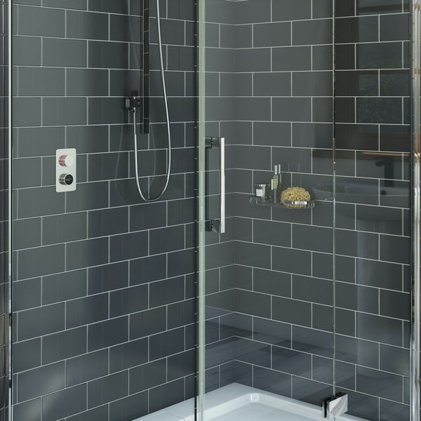 Mode Touch digital shower controller and valve