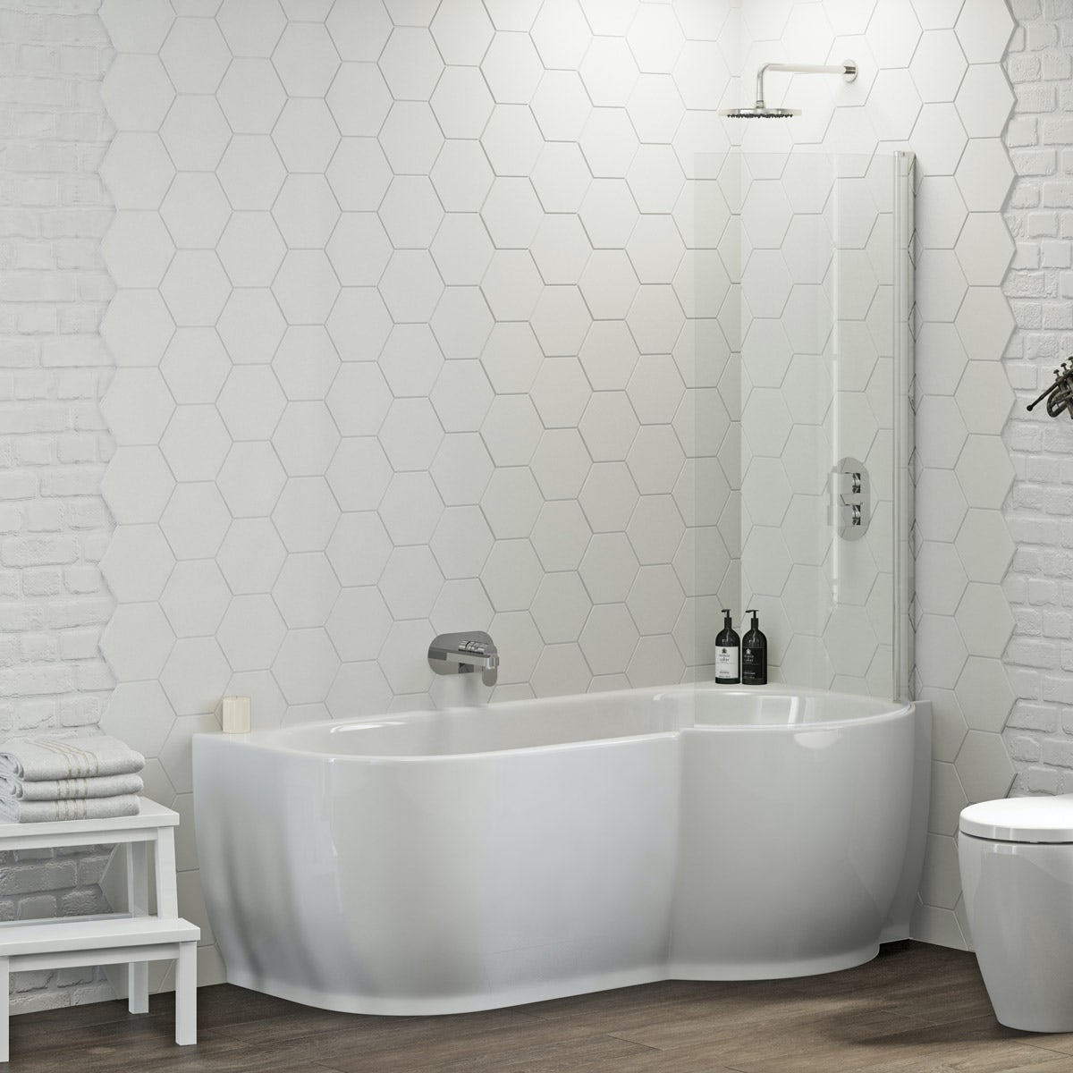 freestanding bath shower screen mobroi com shower screens for p shaped baths maine freestanding bath screen