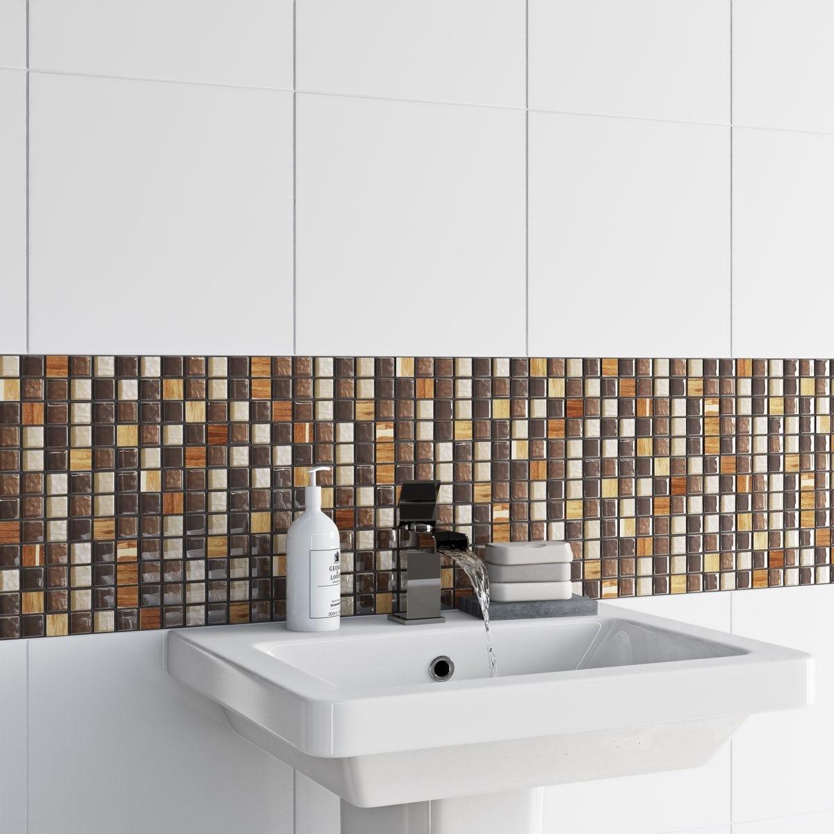 Mosaic natural tile 300mm x 300mm - 1 sheet