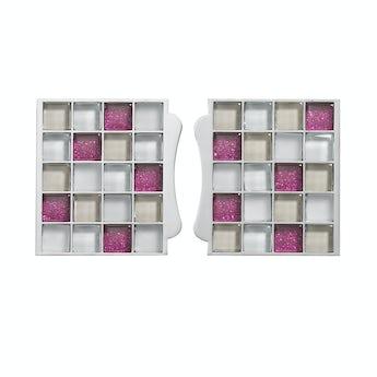 Aqualisa sassi electric shower tile inlays pink