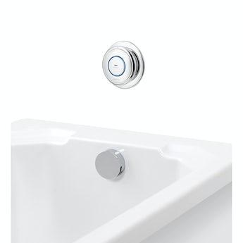 Aqualisa quartz digital bath fill system pumped