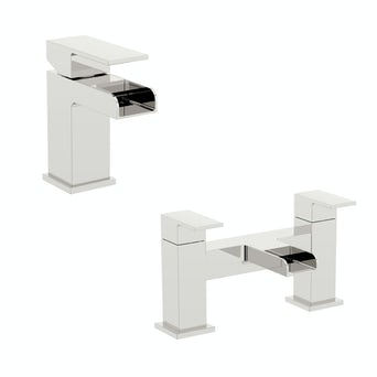 Flume Basin and Bath Mixer Pack