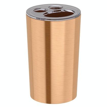 Glaze copper toothbrush holder
