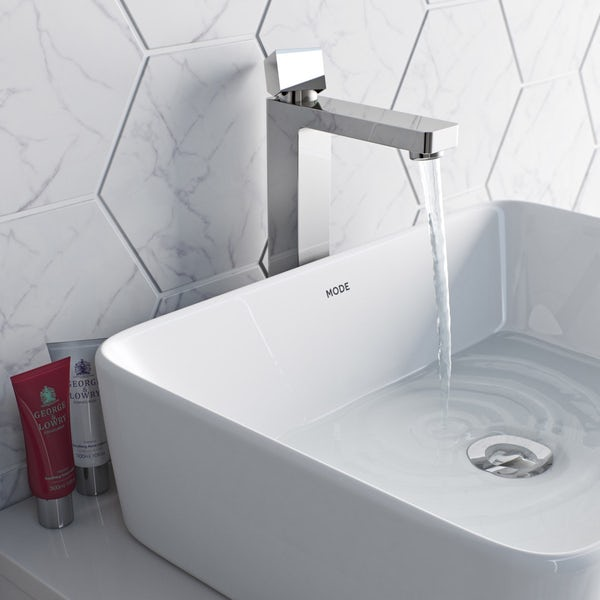 Mode Austin high rise basin mixer tap offer pack