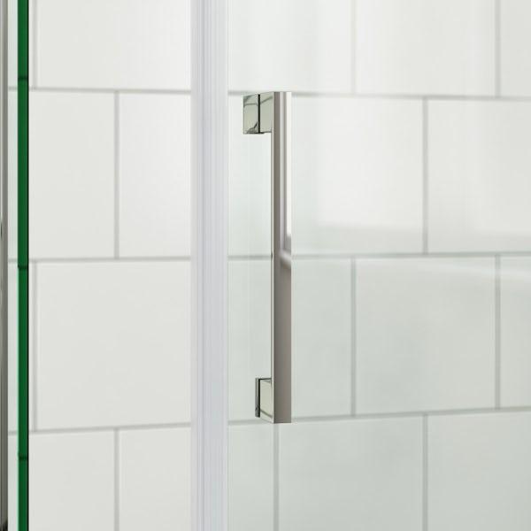 Mode Cooper premium 8mm easy clean quadrant shower enclosure 900 x 900