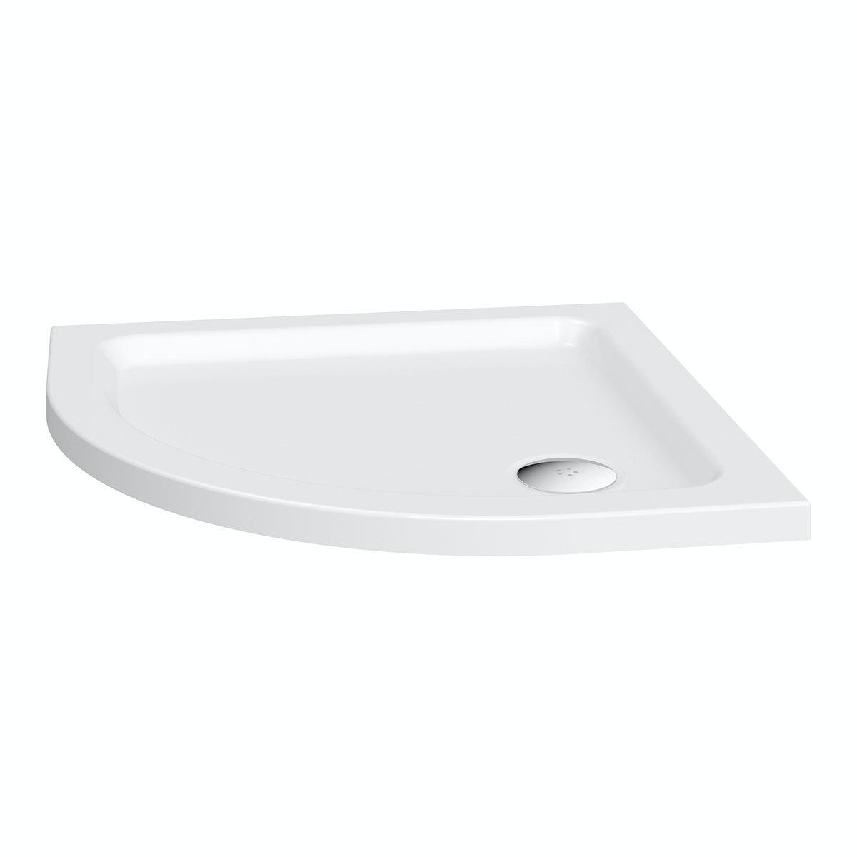 Clarity Quadrant Shower Tray 800 x 800