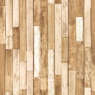 Fine Decor distinctive wood reclaim cream wallpaper