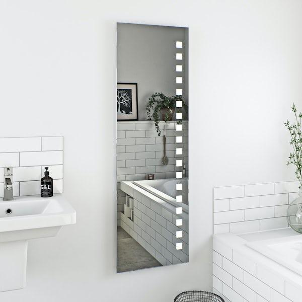 Mode Radiant full length rectangular LED mirror