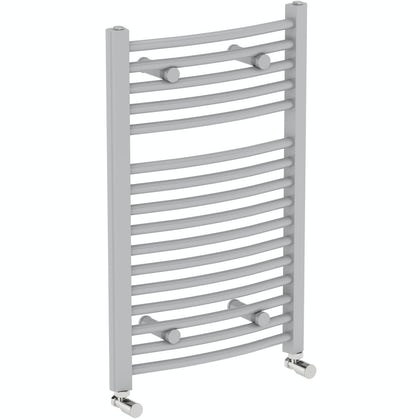 Orchard Elsdon stone grey heated towel rail 750 x 450