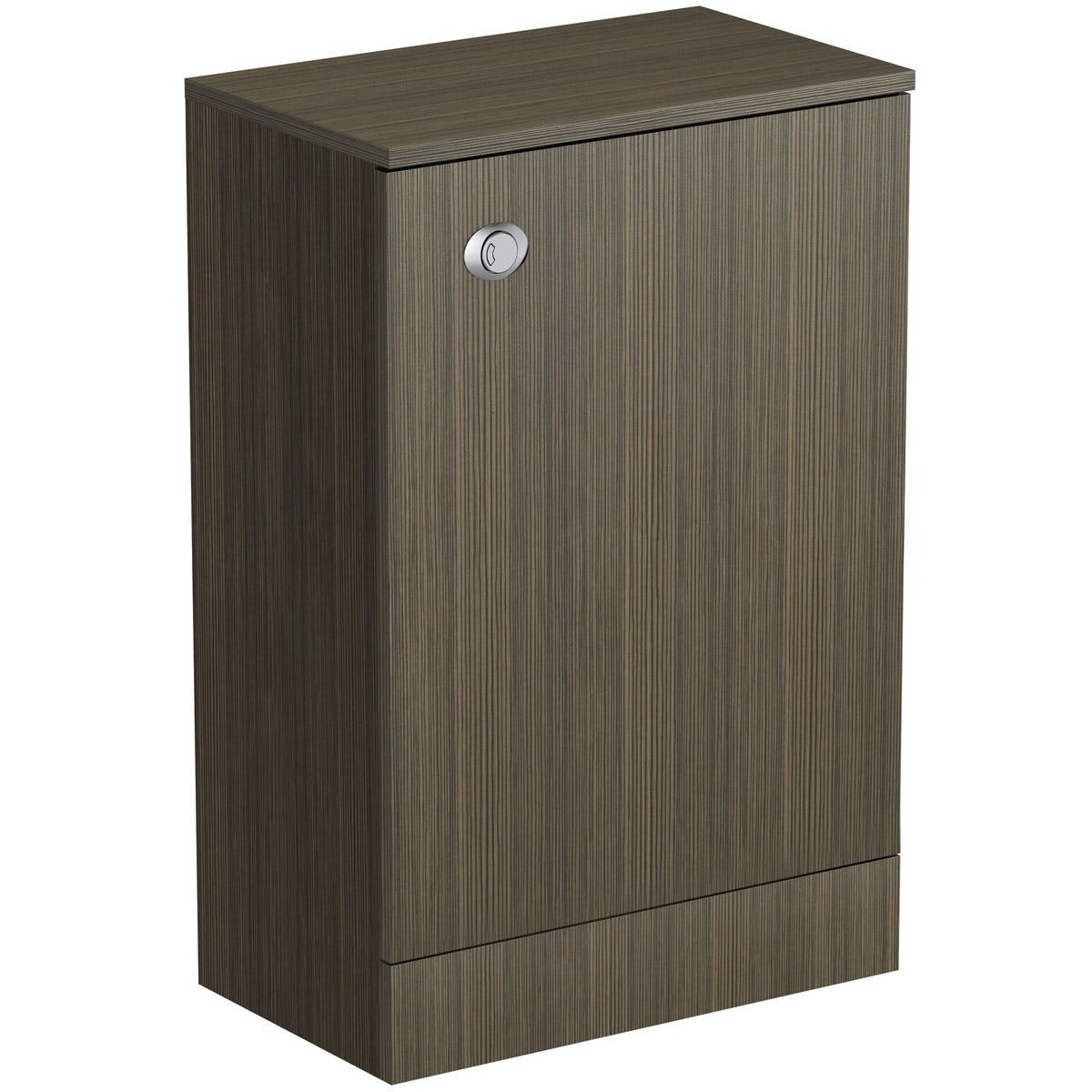 Orchard Wye walnut back to wall toilet unit