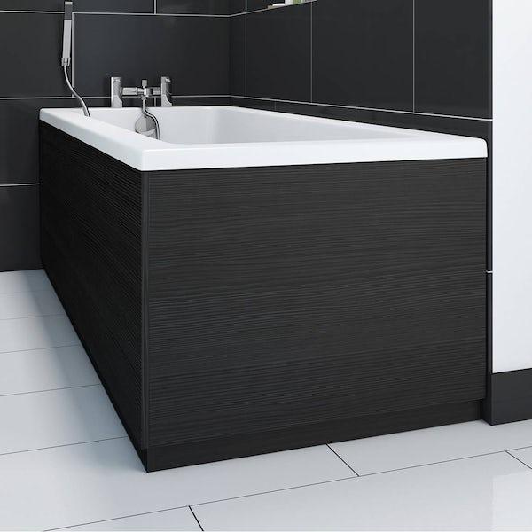 Drift Essen Wooden Bath End Panel 800