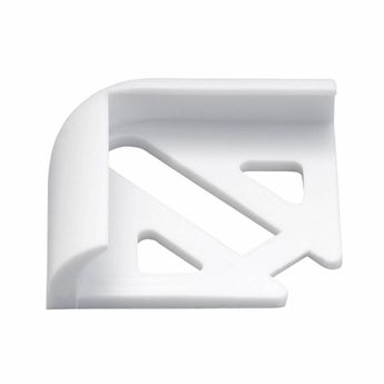 Homelux PVC white tile trim corners pack of 2