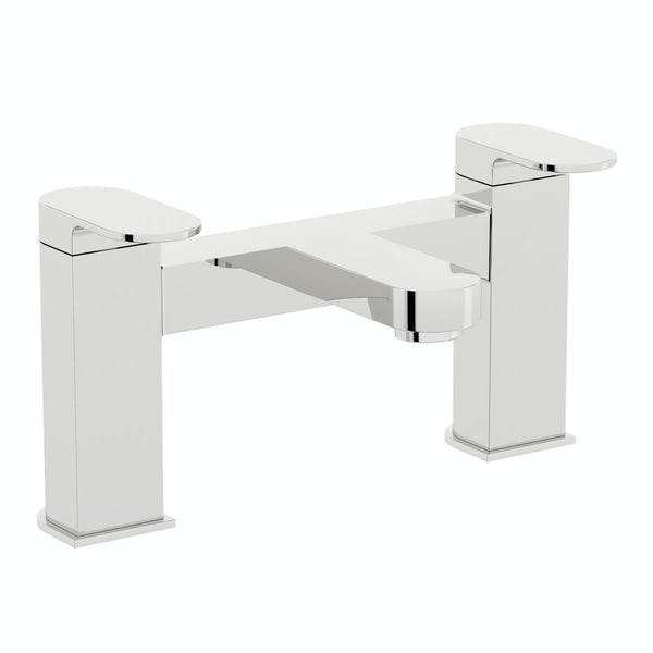 Mode Camden complete right handed corner bath suite
