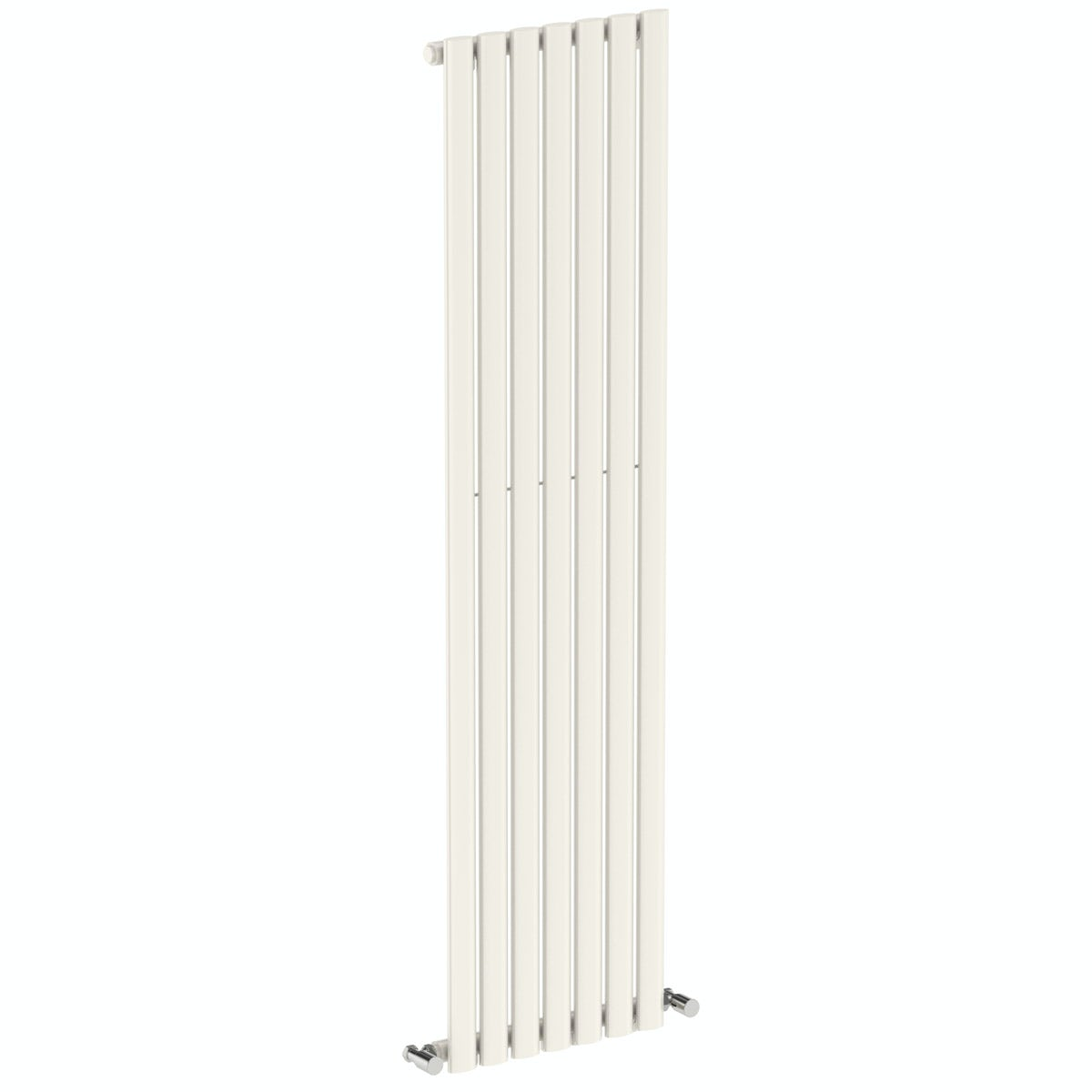 Tate white single vertical radiator 1600 x 406