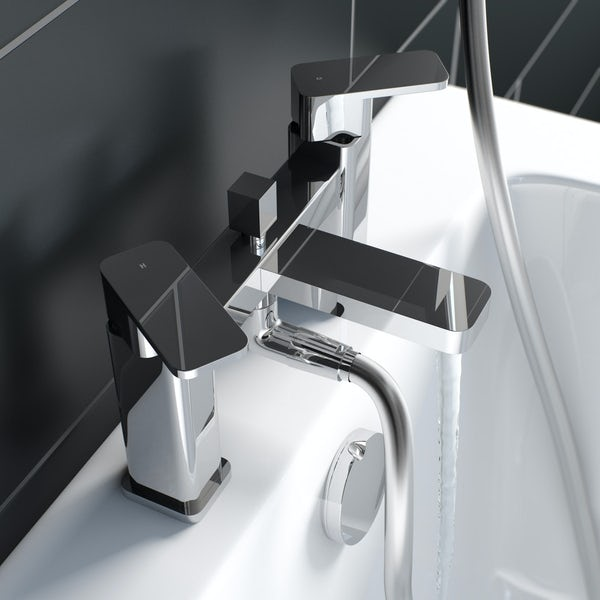 Kirke Connect bath shower mixer tap