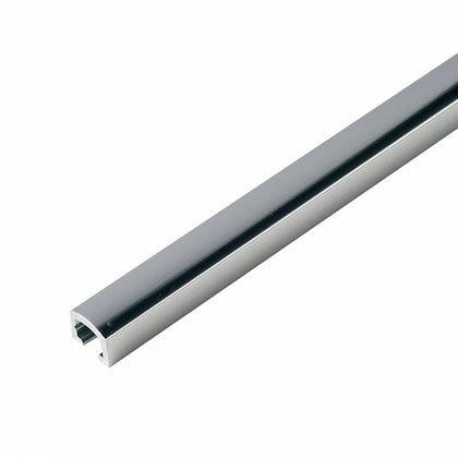 Aluminium Silver Effect Narrow Tile Strip