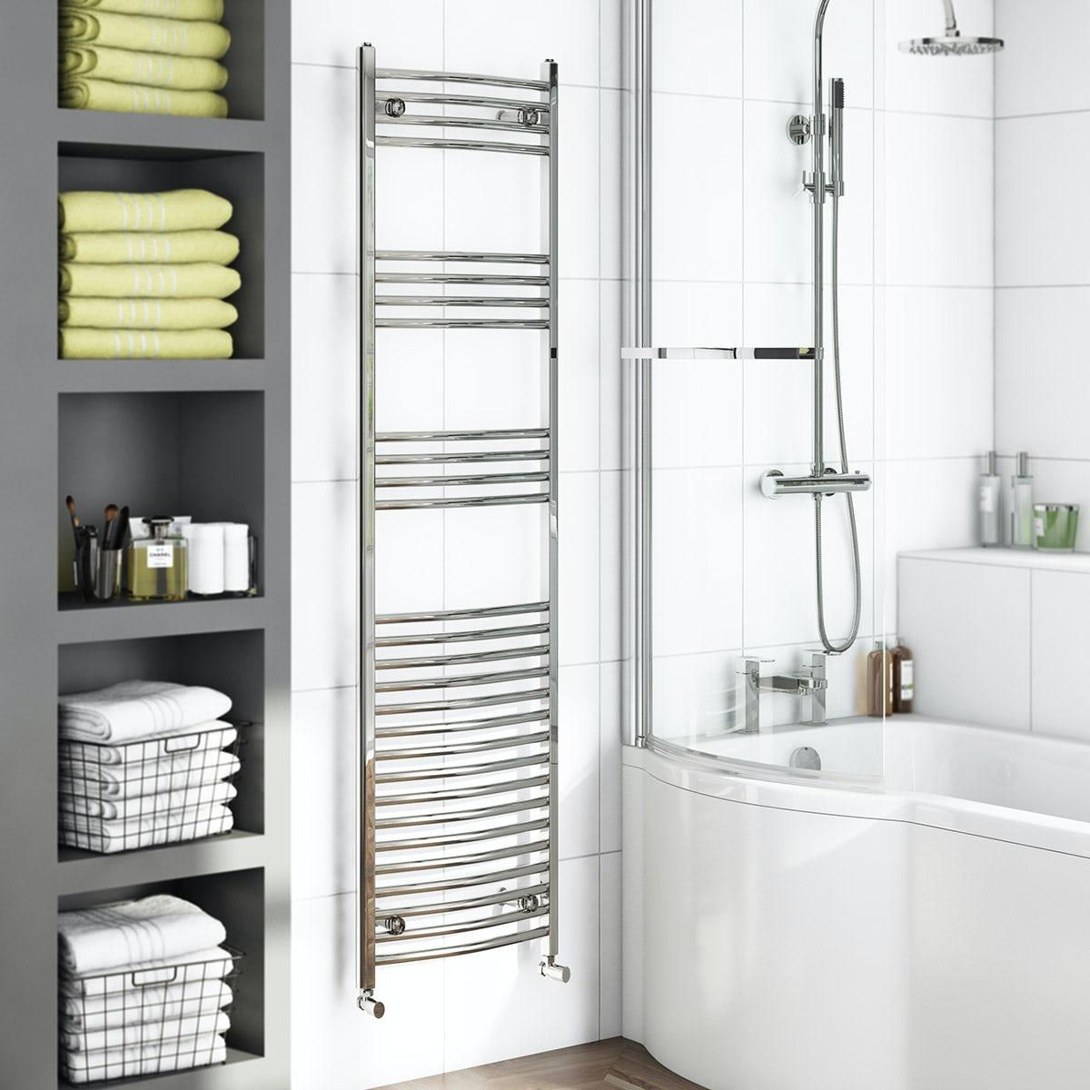 Orchard Elsdon heated towel rail 1650
