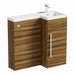 Orchard MySpace walnut right handed unit including concealed cistern