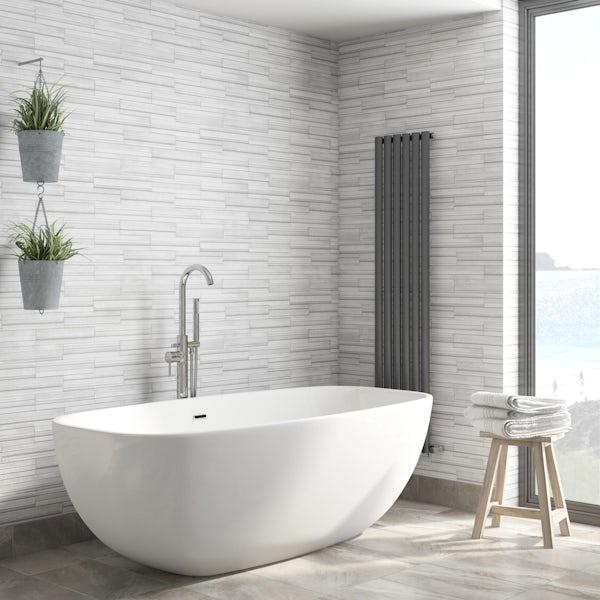 Ceramica Slate Tile - Grey