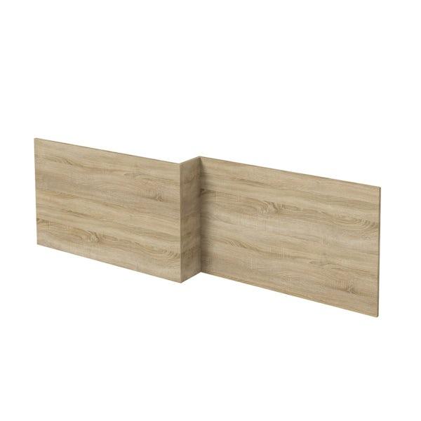 Wye oak 1700 boston square shower bath front panel