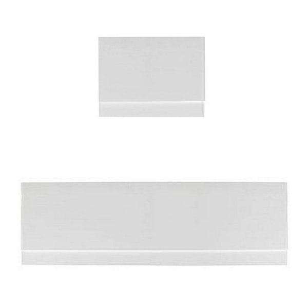 Gloss White Straight Bath Panel Pack 1700 x 750
