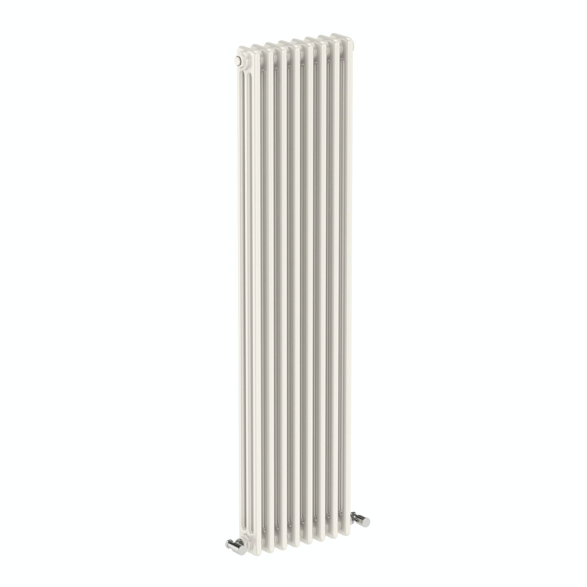 The Bath Co. Dulwich vertical white triple column radiator 1500 x 380