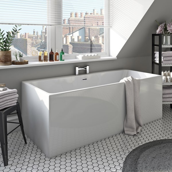 Mode Cooper freestanding bath 1700 x 750 offer pack