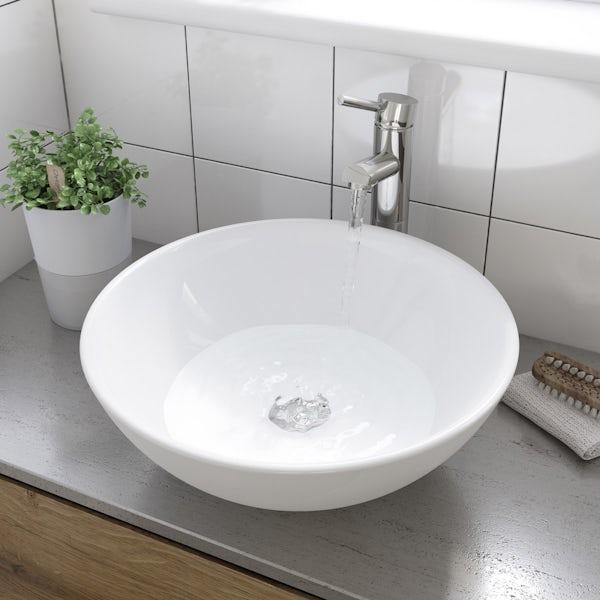 Derwent countertop basin