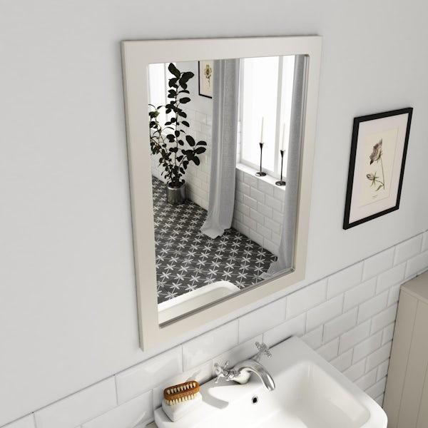 The Bath Co. Dulwich ivory mirror 600mm