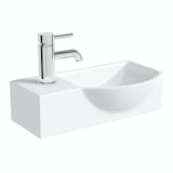 Orchard Lugano 1 tap hole basin 505mm