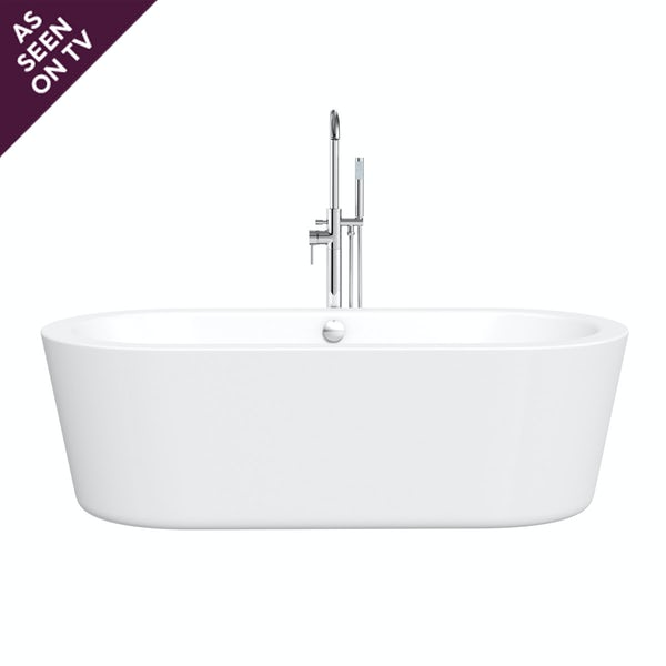 Crescent freestanding bath 1770 x 800 TV special