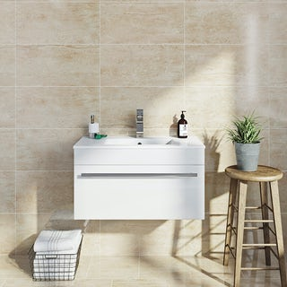 Lux beige gloss tile 298mm x 598mm