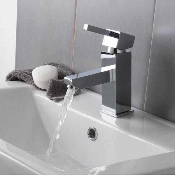 Cubik Basin and Bath Mixer Pack