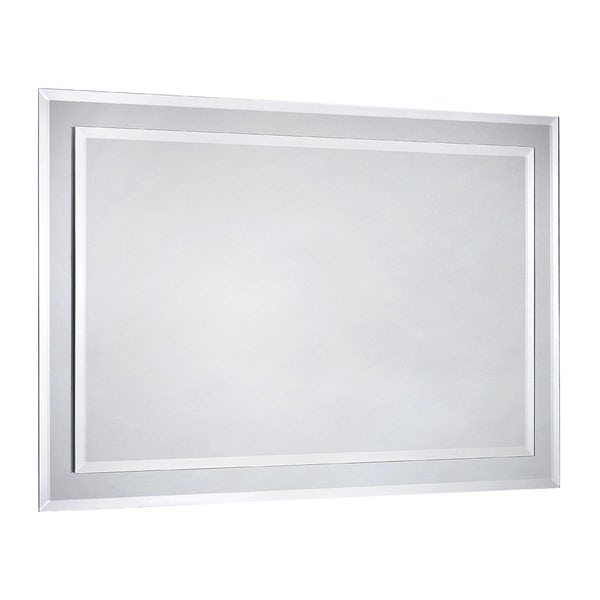 Strickland bevelled edge dual tier mirror 600x400