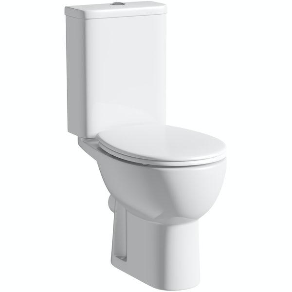Orchard Elena close coupled toilet inc soft close seat