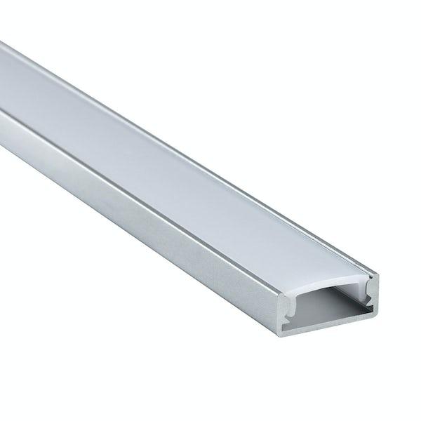 Surface mounted aluminium profile 2m