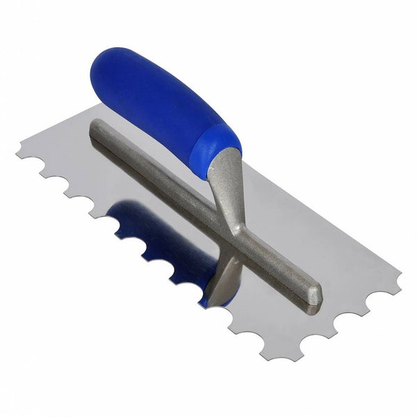 Professional 20mm Round Notch Floor Trowel