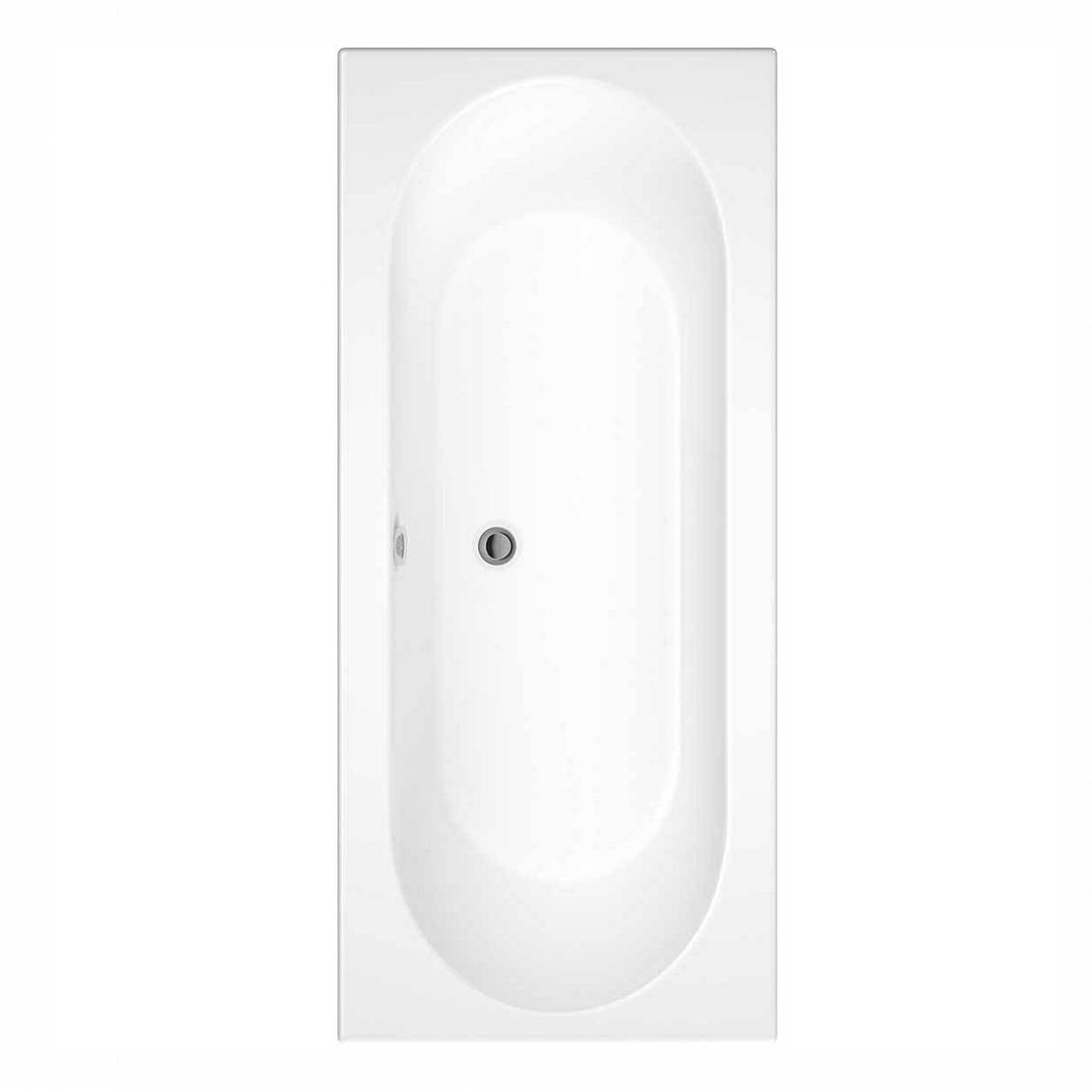 Orchard round edge double ended bath offer pack
