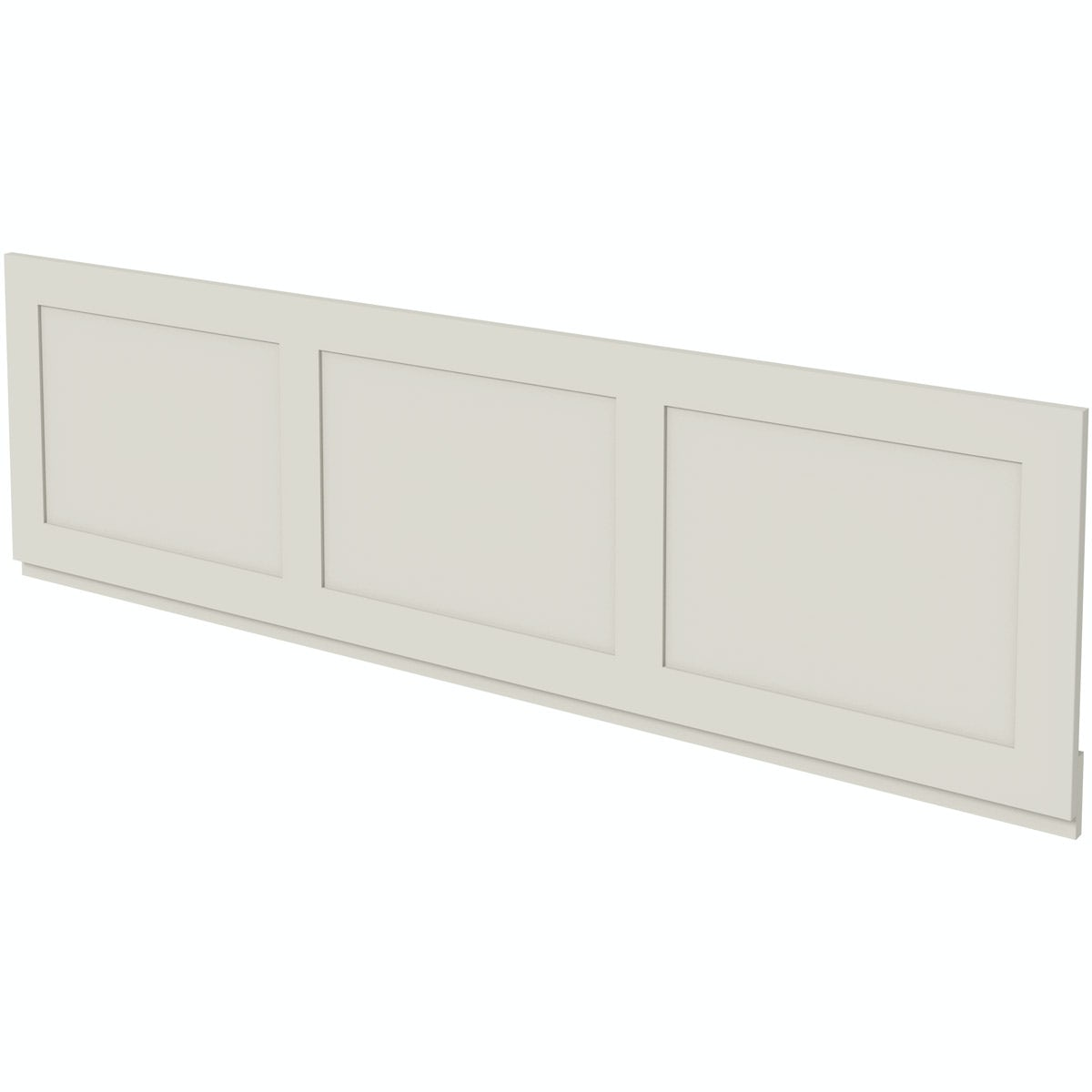 the bath co camberley satin ivory bath front panel 1700mm. Black Bedroom Furniture Sets. Home Design Ideas