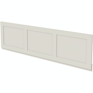 The Bath Co. Camberley satin ivory bath front panel 1700mm