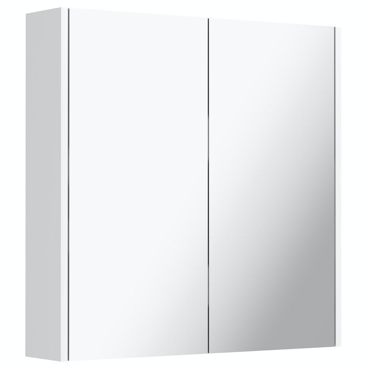 Mode Tate white mirror cabinet 600mm