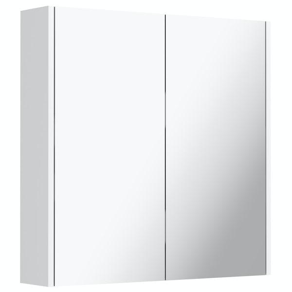 Mode Cooper white mirror cabinet 650mm