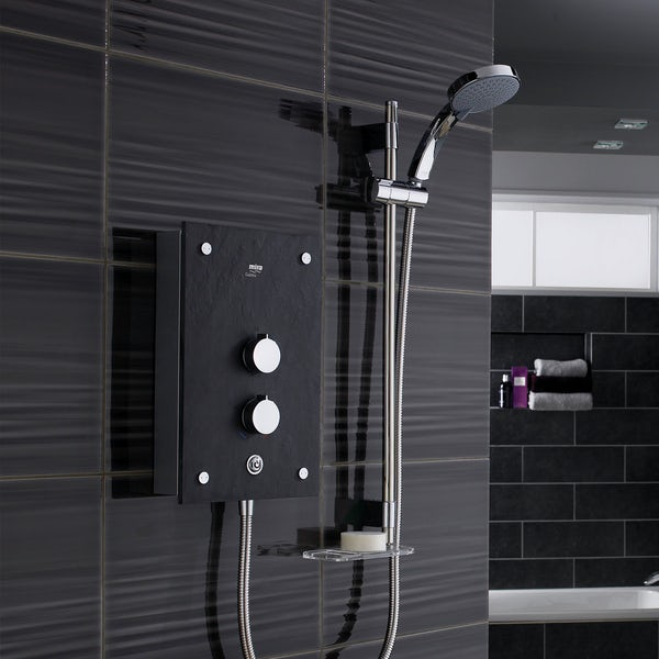 Mira Galena 9.8kw electric shower slate