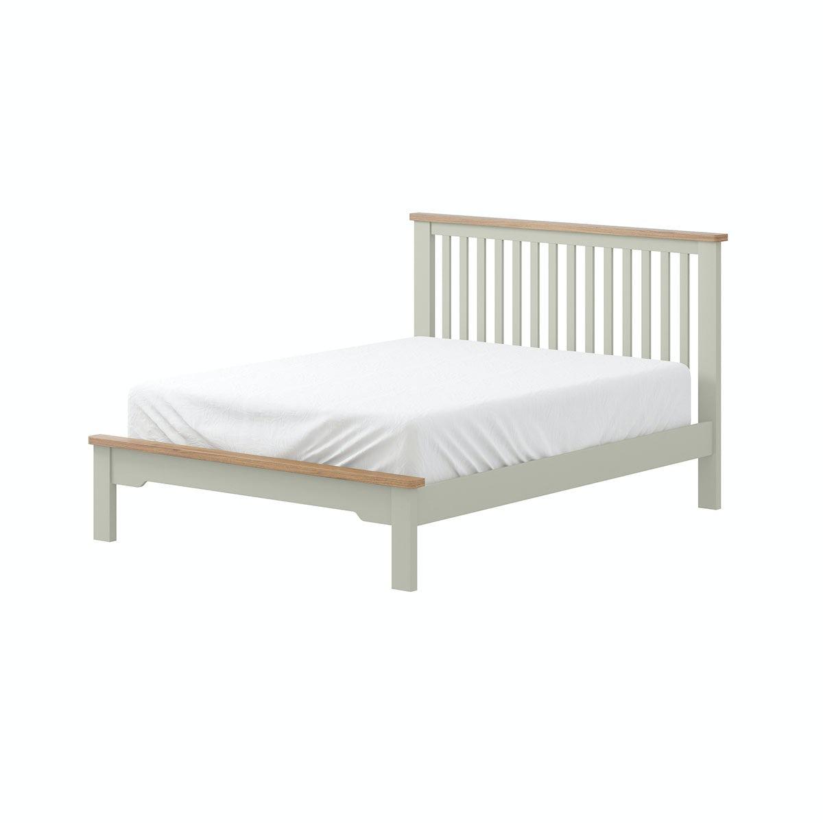 Priced To Clear Reach For The Sky 5u00270 Bed In Oak In Oak U0026 Grey