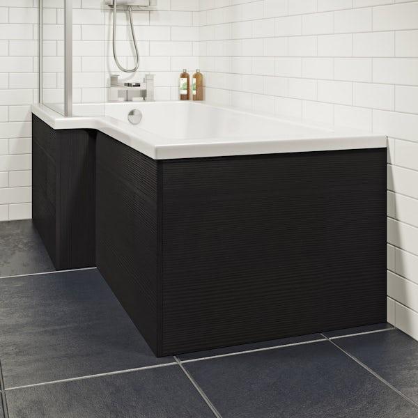 Wye essen 1700 boston square shower bath front panel