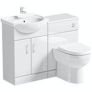 Orchard Eden white 1040 combination with Eden back to wall toilet