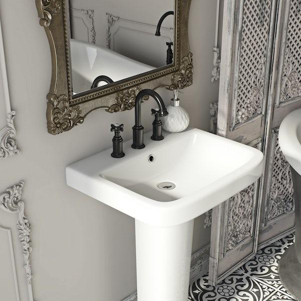 Belle de Louvain Castello 3 hole basin mixer tap