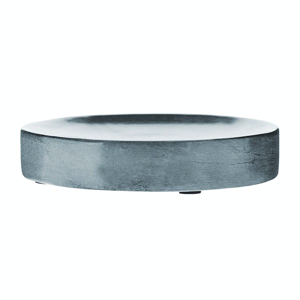 Mode Grey marble soap dish